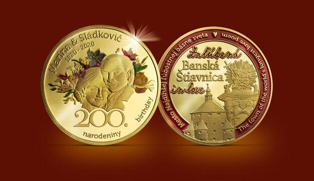 Pamätná minca.
