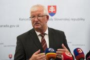 Predseda Súdnej rady SR Ján Mazák.