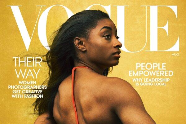 Titulka časopisu Vogue.