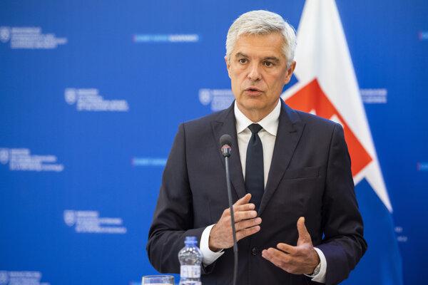 Minister zahraničných vecí a európskych záležitostí Ivan Korčok.