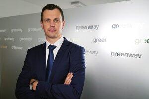 Peter Badík zo spoločnosti Greenway