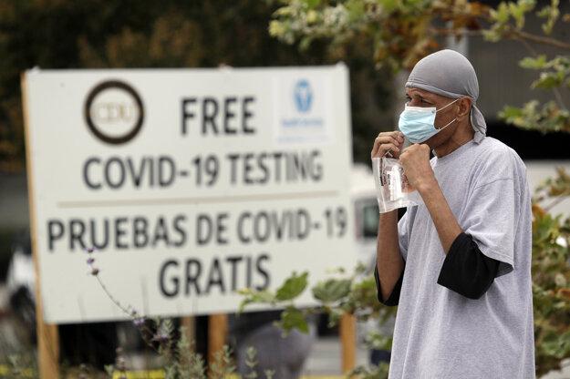 Najhoršia situácia v USA v súvislosti s koronavírusom je v Kalifornii, ktorá v počte nakazených predbehla New York.