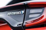 Logo Toyoty Yaris Hybrid