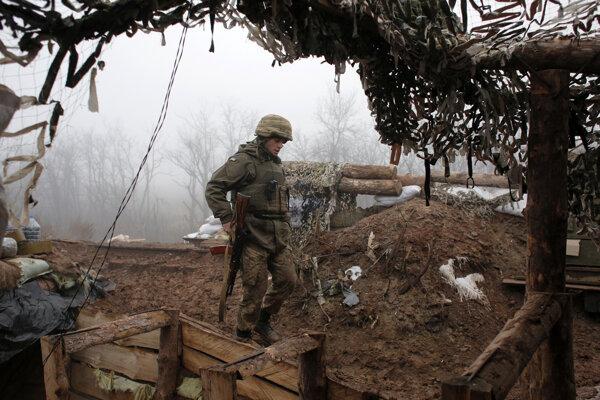 Na ukrajinskom fronte zavládol nateraz pokoj.