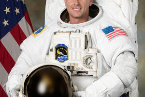 Astronaut z NASA Shane Kimbrough.