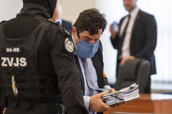 Obžalovaný z objednávky vraždy Jána Kuciaka Marian Kočner.