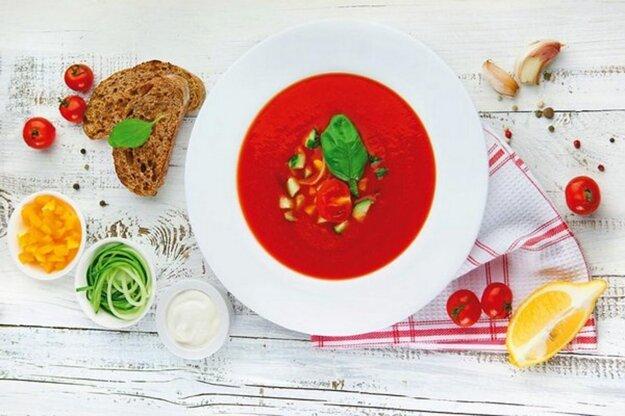Paradajkové gazpacho
