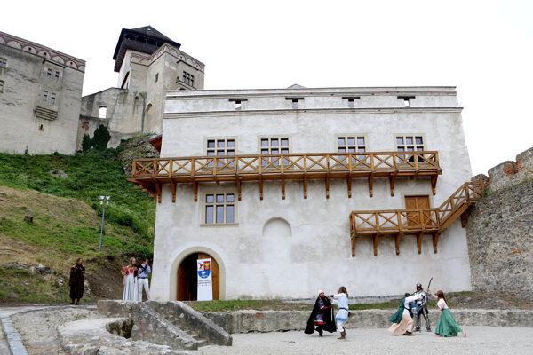 Kasáreň po obnove v roku 2015