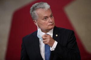 Litovský prezident Gitanas Nauséda.