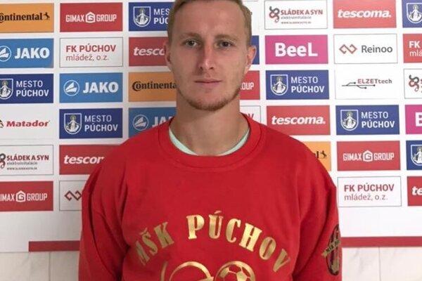 Nová posila MŠK Púchov Peter Varga