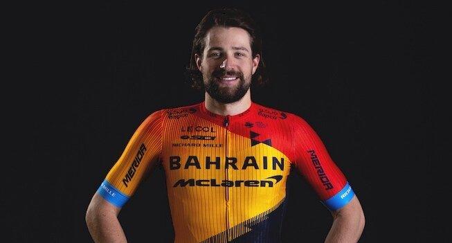 Marco Haller, cyklista, tím Bahrain - McLaren