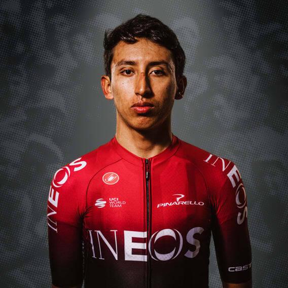 Egan Bernal, cyklista, tím The Ineos Grenadiers