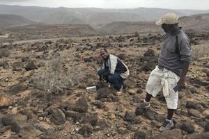Terénna práca v Džibutsku.