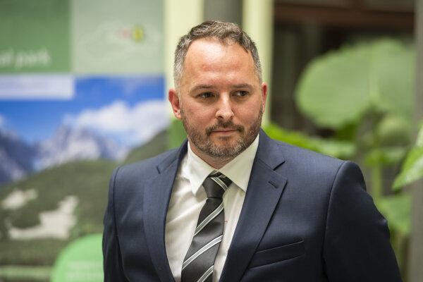 Generálny riaditeľ štátneho podniku Vodohospodárska výstavba Vladimír Kollár.