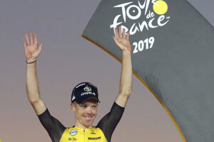 Steven Kruijswijk skončil tretí na Tour de France 2019.