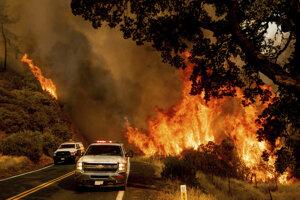 Kalifornia. Viac ako 70 000 požiarov od začiatku roka. Zasiahli oblasť s veľkosťou 566-tisíc hektárov.