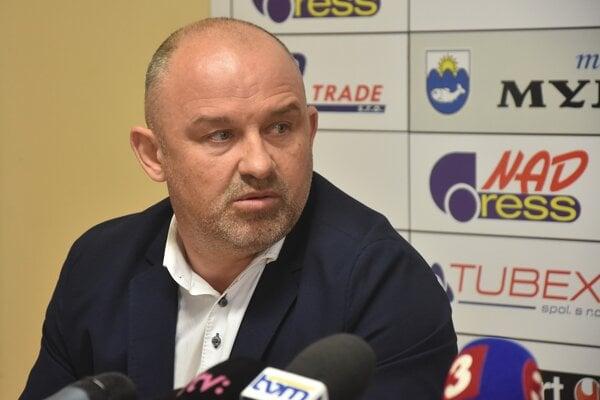 Generálny manažér Spartaka Myjava Peter Halabrín.
