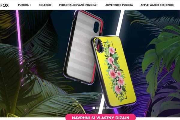 Mobilfox predáva kryty na telefón.