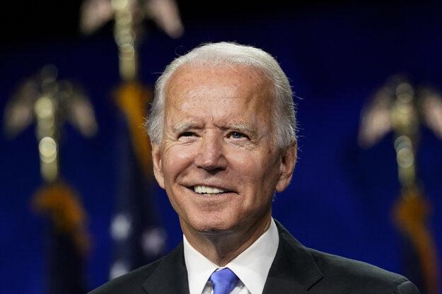Demokratický kandidát na prezidenta USA Joe Biden.