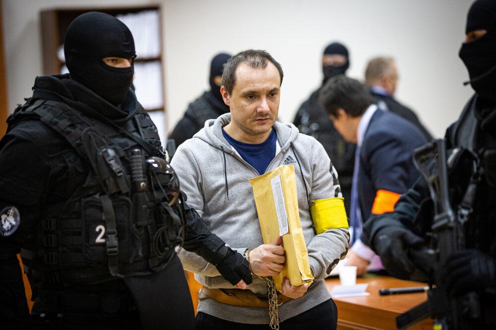 22. január 2020. Obžalovaný Tomáš Szabó.