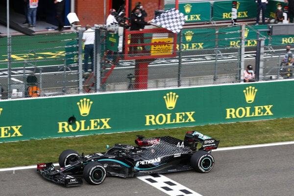 Lewis Hamilton vyhral VC Belgicka 2020.