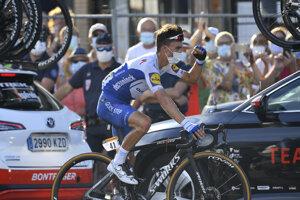 Julian Alaphilippe vyhral 2. etapu na Tour de France 2020.