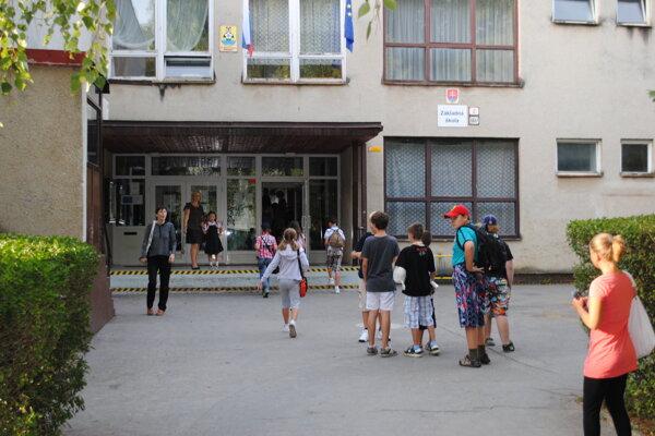 ZŠ Mirka Nešpora v Prešove. (archívne foto)
