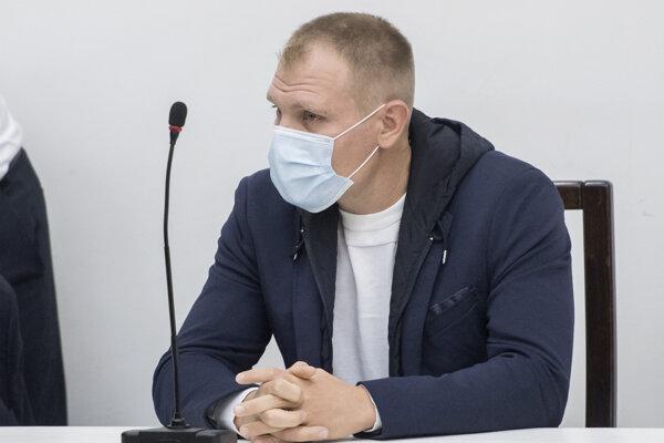 Alexander Salmanov na pondelkovom pojednávaní Najvyššieho súdu.