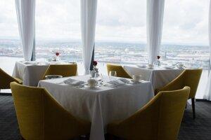 Výhľad z reštaurácie