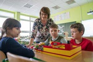 Iveta Kališová, riaditeľka a učiteľka prvého stupňa v Základnej škole s materskou školou Ľubeľa.