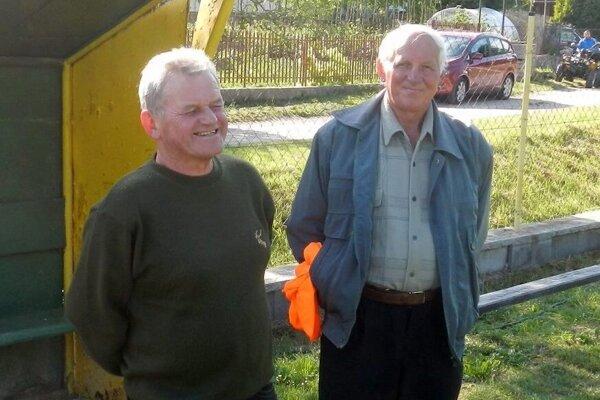 Jozef Cagáň (vľavo).