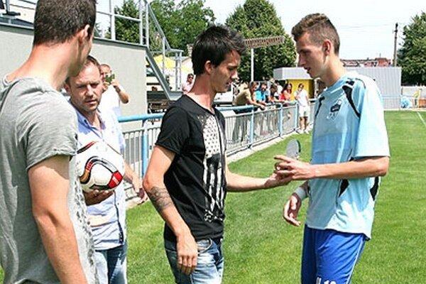 Filip Balaj si odniesol cenu pre najlepšieho strelca turnaja.