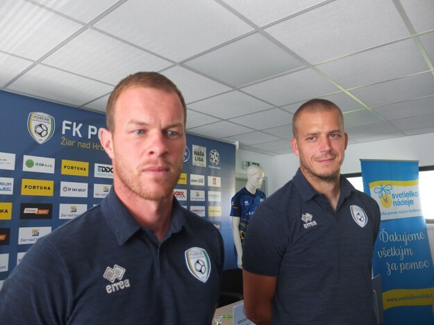 Takúto spoluprácu vítajú aj hráči. Lukáš Pellegrini a Petr Pavlík.