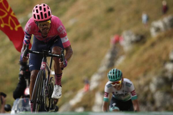Daniel Felipe Martínez - víťaz 13. etapy.