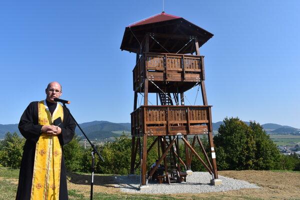 Posviacka vyhliadkovej veže v Sabinove.