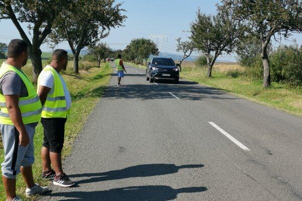 Hliadku MOPS sme v pondelok doobeda našli hliadkovať na štátnej ceste.