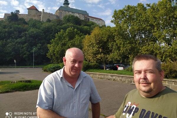 Štefan Korman (vľavo) a Ján Kara.