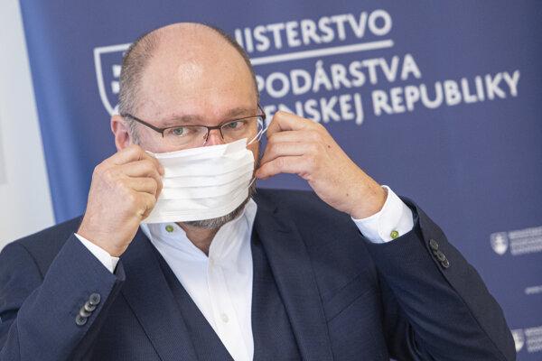 Minister hospodárstva Richard Sulík.