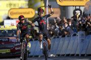 Michal Kwiatkowski prvýkrát zvíťazil na Tour de France.