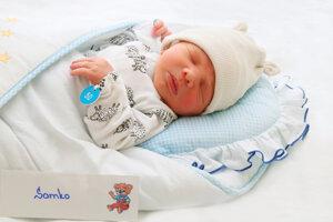 Samuel Karak z Malinovej sa narodil 31.8. v Bojniciach