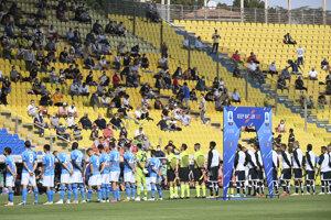 Momentka zo zápasu Parma - Neapol.