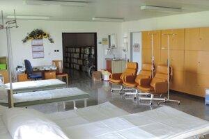 Pôvodné priestory onkologického stacionáru.
