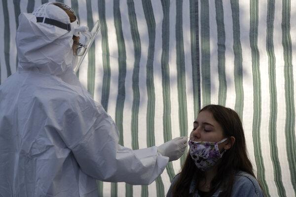 Testovanie na nový koronavírus
