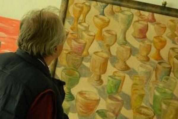 Výstavu Výtvarné spektrum si v KOS Nitra môžete pozrieť do 29. mája.