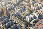 Vizualizácia ubytovacieho zariadenia, ktoré chce postaviť spoločnosť 3 Plus Invest.