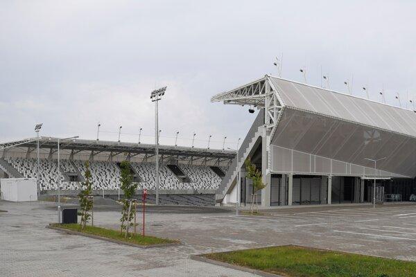 Košická futbalová aréna.