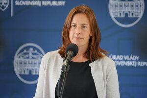 Ministerka kultúry SR Natália Milanová.