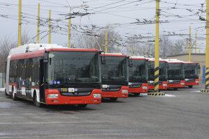 Nové trolejbusy dorazili do Prešova na konci roka 2016.