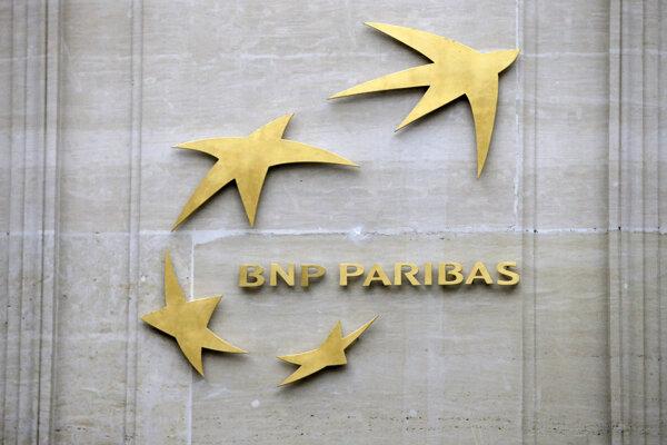 Logo francúzskej banky BNP Paribas.