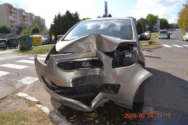 Alkohol bol u vodiča vylúčený.